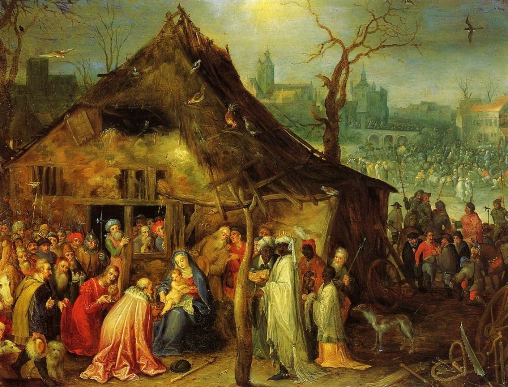 Adoration of the Magi by Jan Brueghel the Elder (1568-1625).